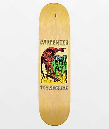 """Toy Machine Carpenter Street Demon 8.0"""" Skateboard Deck"""