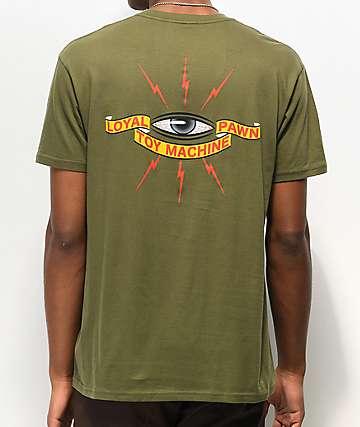 Toy Machine Loyal Military Green T-Shirt