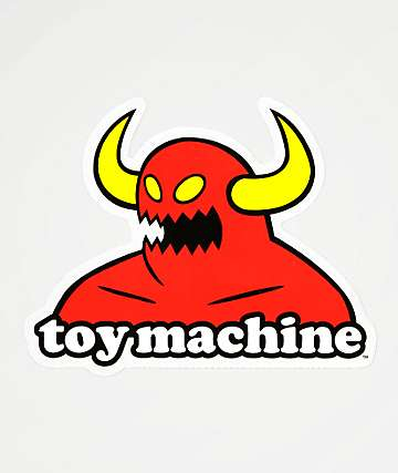 Toy Machine Monster Sticker