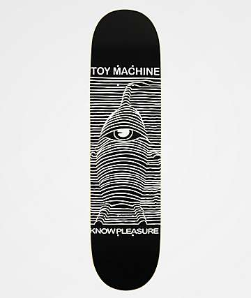"Toy Machine Toy Division 8.0"" Skateboard Deck"