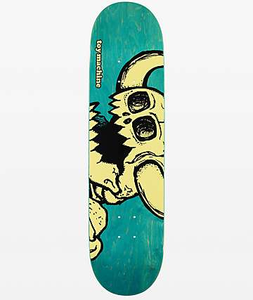 "Toy Machine Vice Dead Monster 8.0"" Skateboard Deck"