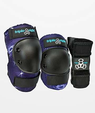 Triple Eight Galaxy paquete de 3 almohadillas protectoras