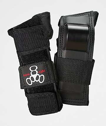 Triple Eight Wristsaver protectores de muñeca negros