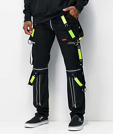 Tripp NYC Electric Black Bondage Pants
