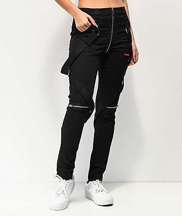 Tripp NYC No Regrets Black Bondage Pants