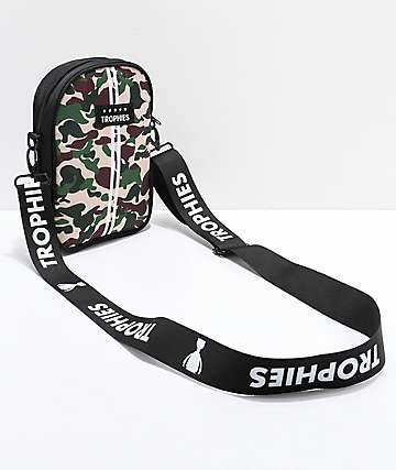 Trophies Camo Shoulder Bag