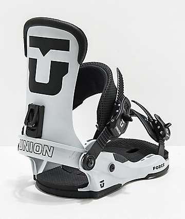 Union Force Grey Snowboard Bindings 2020
