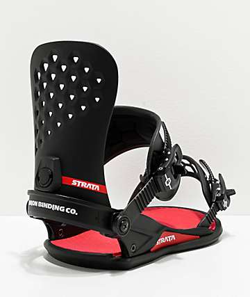Union Strata Black Snowboard Bindings 2020