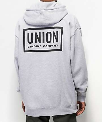 Union Team Grey Hoodie