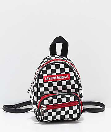 Unionbay Checkered Mini Backpack
