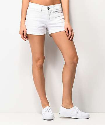Unionbay Delaney White Shorts