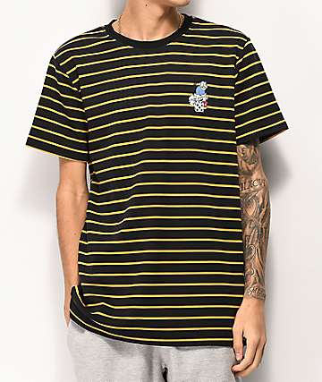Utmost Denis camiseta negra de rayas