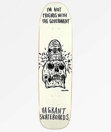 """Vagrant x Hirotton Not Friends 2 8.38"""" Skateboard Deck"""