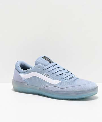 Vans A.V.E. Pro Blue Fog & White Skate Shoes