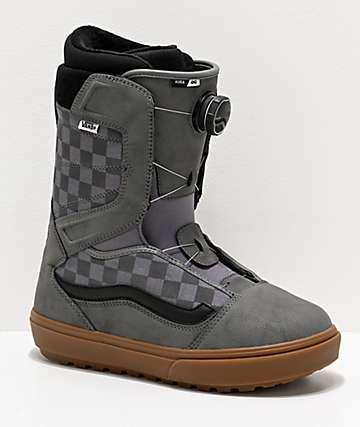 Vans Aura Pro OG Grey Snowboard Boots 2020