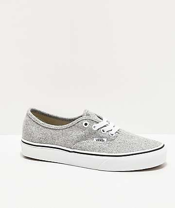 Vans Authentic White Asparagus Skate Shoes