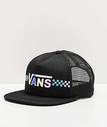 Vans Beach Holiday Black Trucker Hat