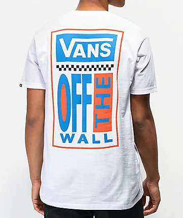 Vans Big Ticket Too White T-Shirt