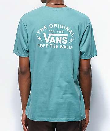 Vans Bolt Action Oil Blue T-Shirt