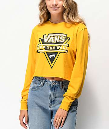 Vans Breakdown Mango Crop Long Sleeve T-Shirt