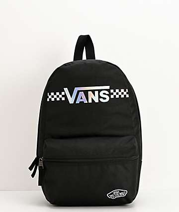Vans Calico Black & Shinier Times Mini Backpack