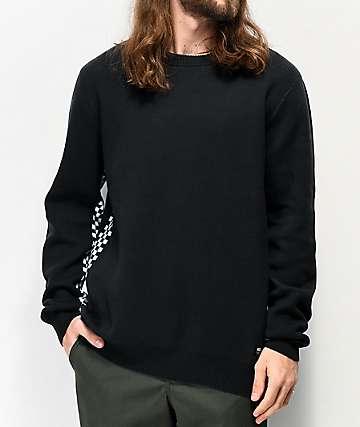 Vans Centella Black & Checkerboard Sweater