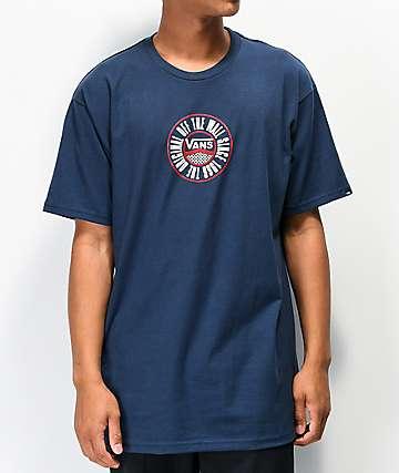 Vans Chamber Dress Blues camiseta
