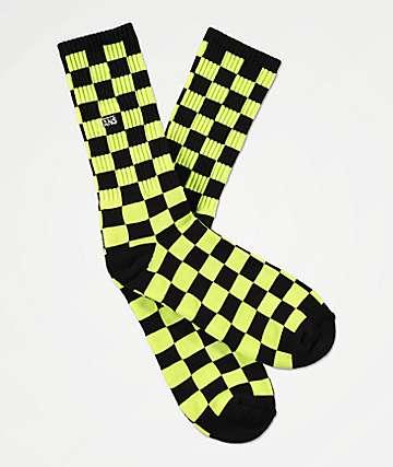 Vans Checkerboard II Sharp calcetines verdes