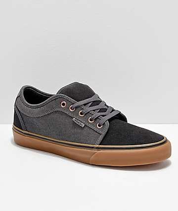 Vans Chukka Low Asphalt Pewter Skate Shoes