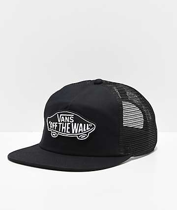 Vans Classic Patch Black & White Trucker Hat