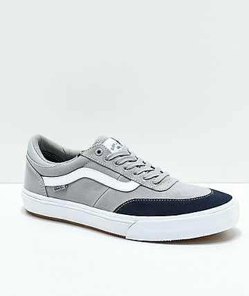 Vans Crockett 2 Alloy & Parisian Night Skate Shoes