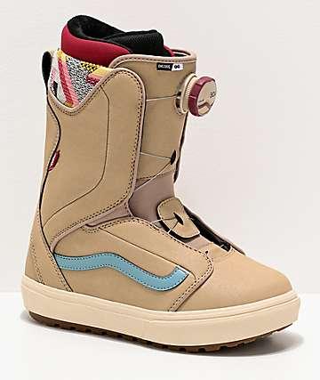 Vans Encore OG Tan Snowboard Boots Women's 2020