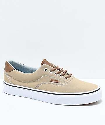 Vans Era 59 C&L Cornstalk & Acid Denim Skate Shoes
