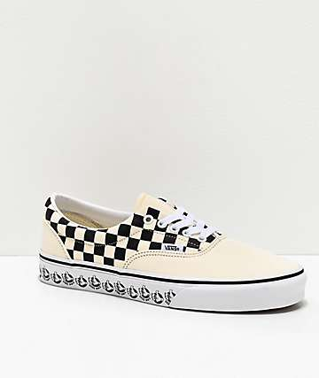 Vans Era BMX White & Black Skate Shoes