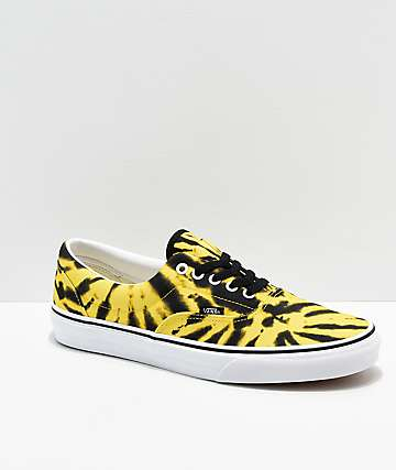 Vans Era Blazing Yellow Tie Dye Skate Shoes