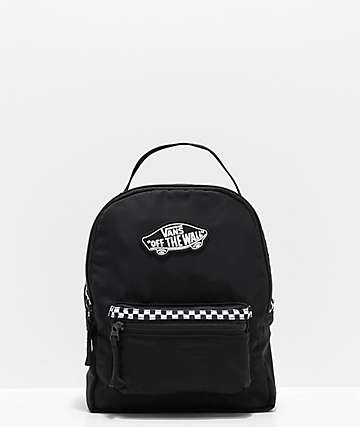 Vans Expedition 2 mini mochila negra de cuadros