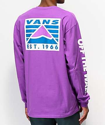 Vans HI Point Dewberry Purple Long Sleeve T-Shirt