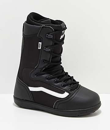 Vans Hi-Standard Black & White Snowboard Boots 2019