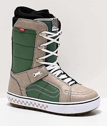 Vans Hi-Standard OG Green Snowboard Boots 2020