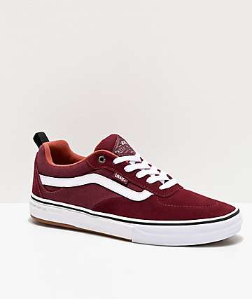 Vans Kyle Walker Pro Port & Redwood Skate Shoes