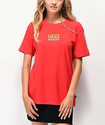 Vans Market Street Red T-Shirt