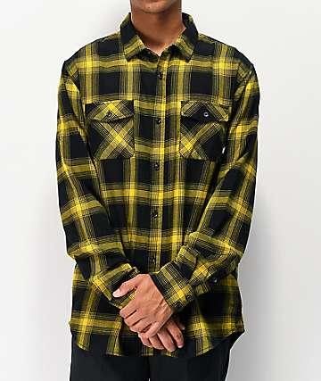 Vans Monterey III Sulphur Flannel Shirt