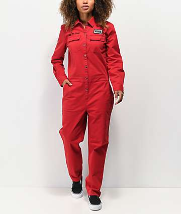 Vans Oil Change Red Coverall
