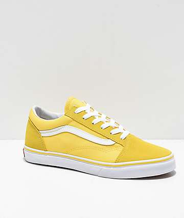 Vans Old Skool Aspen Gold & True White Skate Shoes