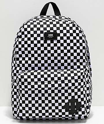 Vans Old Skool III Black & White Checkerboard Backpack