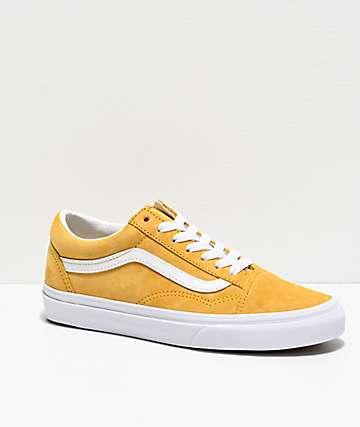 Vans Old Skool Mango Mojito & White Skate Shoes