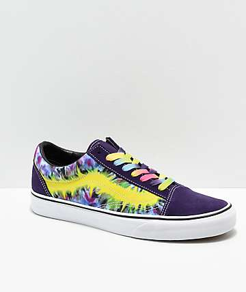 Vans Old Skool Misterio Tie Dye Skate Shoes
