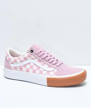 Vans Old Skool Pro Zephyr Checker & Gum Bump Skate Shoes