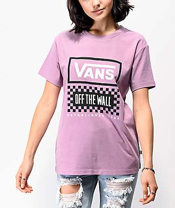Vans Original 66 V Purple T-Shirt
