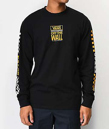 Vans Pacific Black Long Sleeve T-Shirt